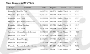 VIajes pp3